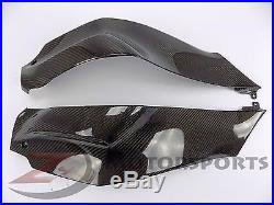 2011-2017 Ninja ZX10R ZX-10R Gas Tank Side Trim Panel Cowl Fairing Carbon Fiber