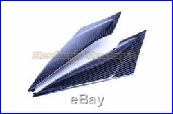2011-2018 GSXR 600 750 GSX-R Carbon Fiber Lower Tank Side Panel Fairing, Twill