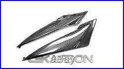 2011 2018 Suzuki GSXR 600 750 Carbon Fiber Side Tank Panels 2x2 twill