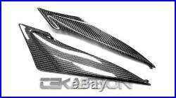 Bestem CBSU-75011-DPN2 Black Carbon Fiber Tank Side Panels for Suzuki GSXR 600 750 2011-2013