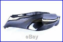 2011-2018 ZX10R 100% Carbon Fiber Tank Side Cover Panel Fairing Trim Twill Weave