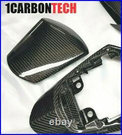 2011-2020 Suzuki Gsxr 600 750 Blue Hybrid Tail Center, Seat Cowl, Mid-tank Trims