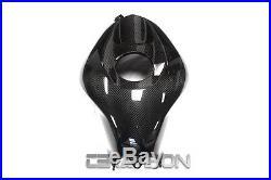 2013 2016 Honda CBR600RR Carbon Fiber Tank Cover 2x2 twill weave