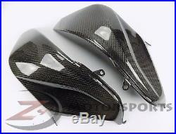 2013-2016 Kawasaki Z800 Gas Tank Side Cover Panel Trim Fairing Cowl Carbon Fiber