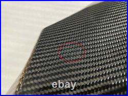 2013-2021 Ninja ZX-6R Carbon Fiber Gas Tank Side Cover Trim Panel Fairing Cowl