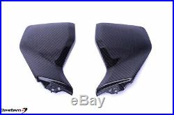 2014-2016 Yamaha FZ-09 / MT-09 Carbon Fiber Fuel Tank Side Covers Twill 100%