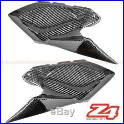 2014-2016 Z1000 Upper Gas Tank Side Trim Cover Panel Fairing Cowl Carbon Fiber