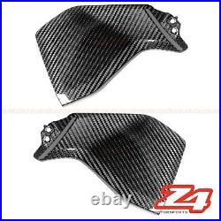 2014-2017 FZ-09 Gas Tank Side Fuel Cover Trim Panel Fairing Cowl Carbon Fiber