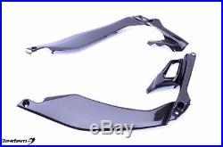 2014-2018 Z1000 Z1000R Tank Side Cover Knee Fairing Panel Trim Cowl Carbon Fiber