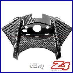 2015 2016 GSX-S750 S750Z Gas Tank Ignition Key Cover Cowl Fairing Carbon Fiber