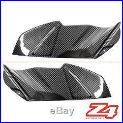 2015 2016 GSX-S750 Z Gas Tank Side Knee Cover Trim Fairing Cowling Carbon Fiber