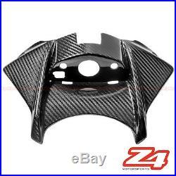 2015 2016 GSX-S750 Z Gas Tank Starter Ignition Key Cover Fairing Carbon Fiber