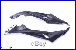 2015 2017 BMW S1000RR 100% Carbon Fiber Tank Side Fairings Panels Twill