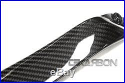2015 2019 Kawasaki Ninja H2 Carbon Fiber Side Tank Panels 2x2 twill weaves