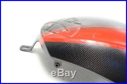 2015 Ducati Diavel Carbon Center Tank Cover Fairing Trim Red Black 48015221AB