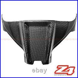 2016-2020 ZX-10R Carbon Fiber Gas Tank Air Box Front Cover Panel Fairing Cowling