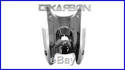 2017 2019 Kawasaki Ninja 650 Carbon Fiber Key Guard Cover Tank 2x2 twill