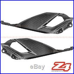 2018 2019 GSX-S750 Z Gas Tank Side Knee Trim Cover Fairing Cowling Carbon Fiber