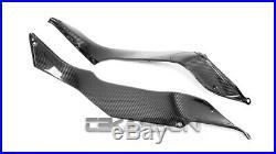 2018 2020 Kawasaki Ninja H2 SX SE Carbon Fiber Side Tank Panels 2x2 twill