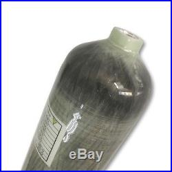 2018 New 3L CE Carbon Fiber Cylinder 4500psi PCP Rifle Shooting Paintball Tank