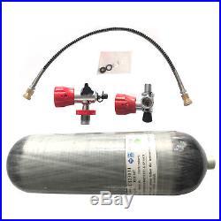 2018 Paintball 9L DOT certified 4500Psi Scuba Carbon Fiber Cylinder PCP Air Tank