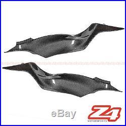 2019 2020 Ninja ZX-6R Carbon Fiber Gas Tank Side Cover Panel Fairing Cowling