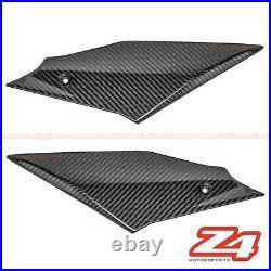 2020-2021 Yamaha R1 R1M Gas Tank Side Knee Cover Trim Fairing Cowl Carbon Fiber
