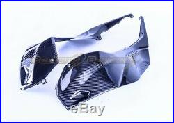 2020+ BMW S1000RR Carbon Fiber Tank Side Panels, Twill Weave Pattern