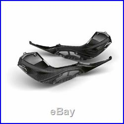 2020 BMW S1000RR Genuine OEM M Tank Trim Cover Carbon Fiber Set Left & Right