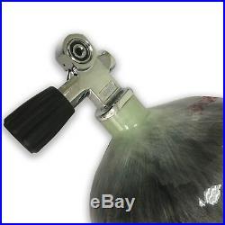 2020 Paintball Air Gun use 12L Scuba 4500Psi Carbon Fiber PCP Tank with Valve