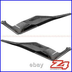 2020 Street Triple S / RS Gas Tank Side Cover Panel Fairing Cowling Carbon Fiber