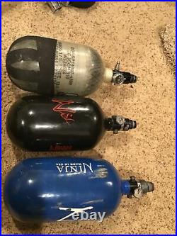3. Carbon Fiber paintball compressed air tank 68/4500 Usability Unknown