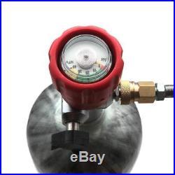 3L 4500PSI High Pressure Carbon Fiber Air Composite Tank Filling Paintball Valve