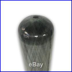 3L CE 4500psi SCUBA Diving Cylinder Carbon Fiber Air Tank Paintball Valve