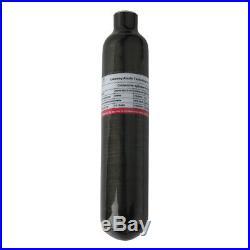 4500Psi Carbon Fiber Tank 0.5L Gas Cylinder 300Bar M18x1.5 For Scuba Diving