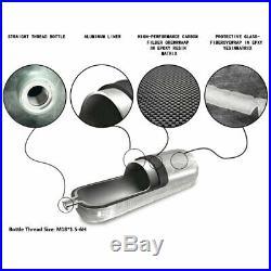 4500Psi Paintball 0.5L High Pressure Air Tank Carbon Fiber Cylinder M18x1.5 PCP