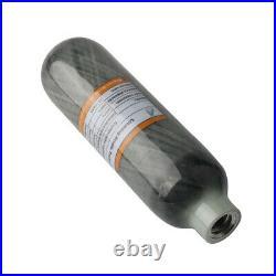 4500psi 0.22L/13CI Carbon Fiber Cylinder PCP Paintball Compressed Scuba Tank US