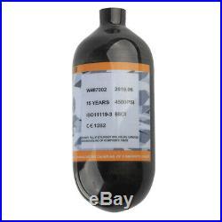 4500psi 68CI Carbon Fiber Air Tank M18x1.5 Thread Air Cylinder HPA Paintball PCP