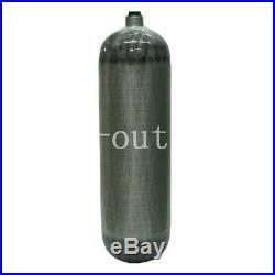 6.8L Carbon Fiber Tank DOT 4500psi Air Fill Station 7/8-14 UNF Thread Diving US