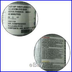 66CFT PCP 6.8L DOT 4500Psi Air Tank Carbon Fiber Cylinder 7/8''-14 UNF Bottle