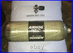 AIRHOG PCP Carbon Fiber Air Tank Cylinder 4500 PSI 88 Cuft 9 Liters