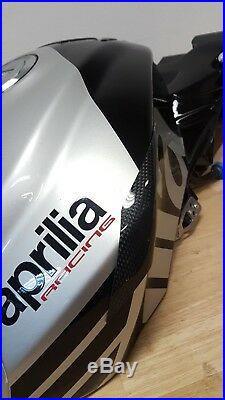 APRILIA RSV4 Tuono 2015-2019 RR RF Carbon Fiber Tank Sliders Protectors Guards