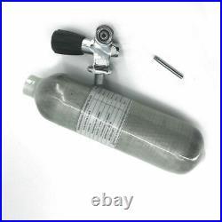 Acecare PCP Airgun 1.1L CE 4500Psi Scuba Carbon Fiber Tank Air Bottle with Valve