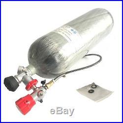 Acecare PCP Paintball 9L 4500Psi DOT Scuba Diving Tank Carbon Fiber Air Cylinder