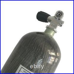 Acecare PCP Scuba 6.8L CE 4500Psi High Pressure Air Tank Carbon Fiber with Valve