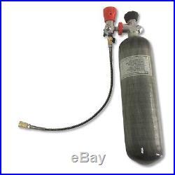 Air Rifle PCP 3L CE 30Mpa 4500Psi Pressure Tank 2018 Carbon Fiber Gas Cylinder