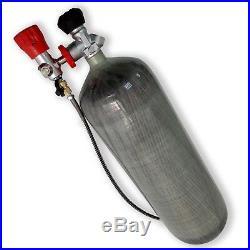 Air Rifle use 86 cu ft 4500psi Scuba Fish Tank 2018 PCP Cylinder Carbon Fiber