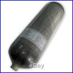 Air Rifles PCP 9L CE 4500Psi Cylinder Carbon Fiber SCBA Tank Sporting Mfr 2018
