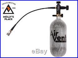 Air Venturi AV4590HPT, 4500 PSI Carbon Fiber Air Tank & Fill Station 90cu. In
