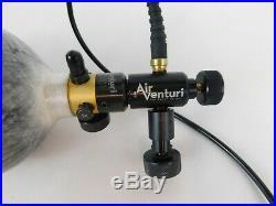 Air Venturi Carbon Fiber Tank, 90 Cu In 4500 psi, EZ Valve